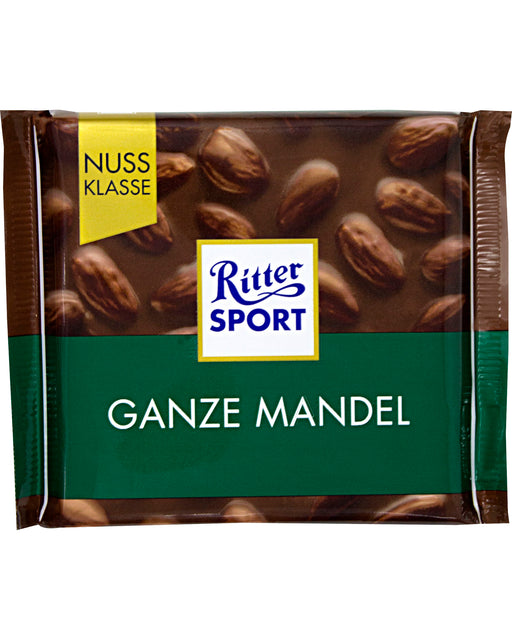 Ritter Sport Milk Chocolate with Whole Almonds