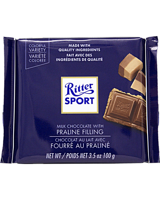 Ritter Sport Milk Chocolate with Praline Filling
