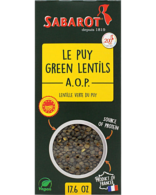Sabarot French Lentils (Green Le Puy Lentils)