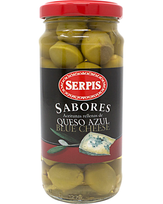 Serpis Olives Stuffed with Blue Cheese