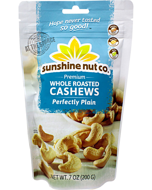 Sunshine Nut Company Roasted Plain Cashews