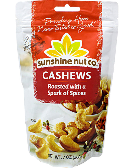 Sunshine Nut Company Whole Cashews with Spices