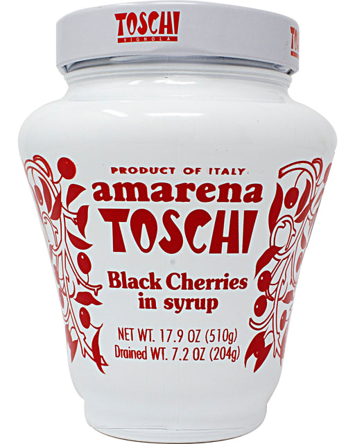 Toschi Amarena Sour Black Cherries in Syrup