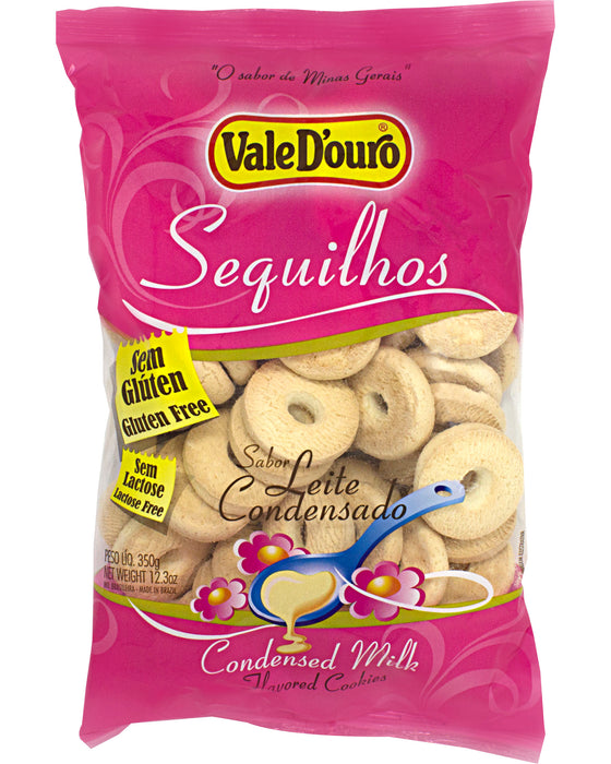 Vale D'ouro Sequilhos (Condensed Milk-Flavored Cookies)