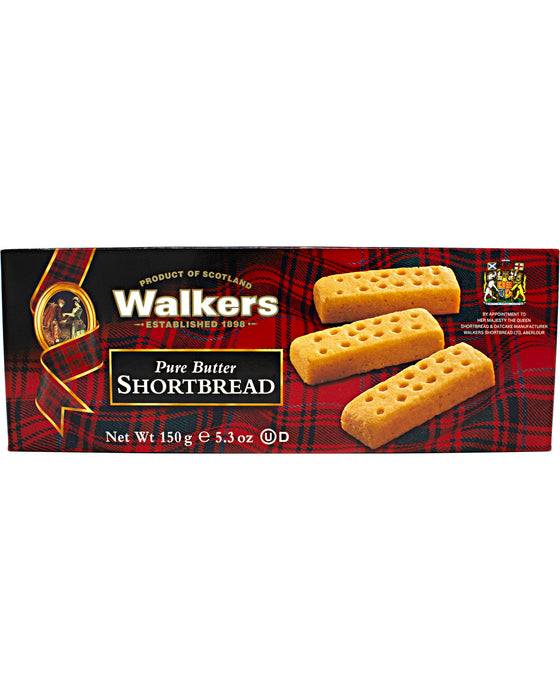 Walkers Shortbread Cookies (Scottish Butter Cookies)