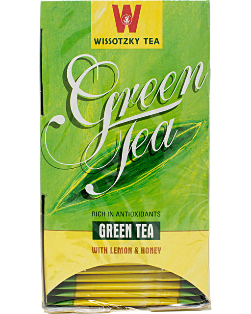Wissotzky Green Tea with Lemon and Honey