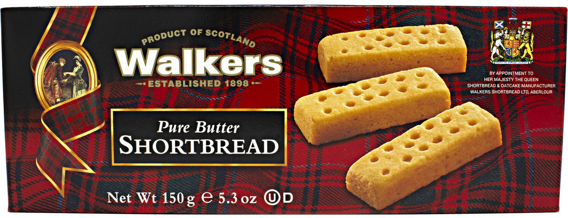 Walkers Shortbread Short