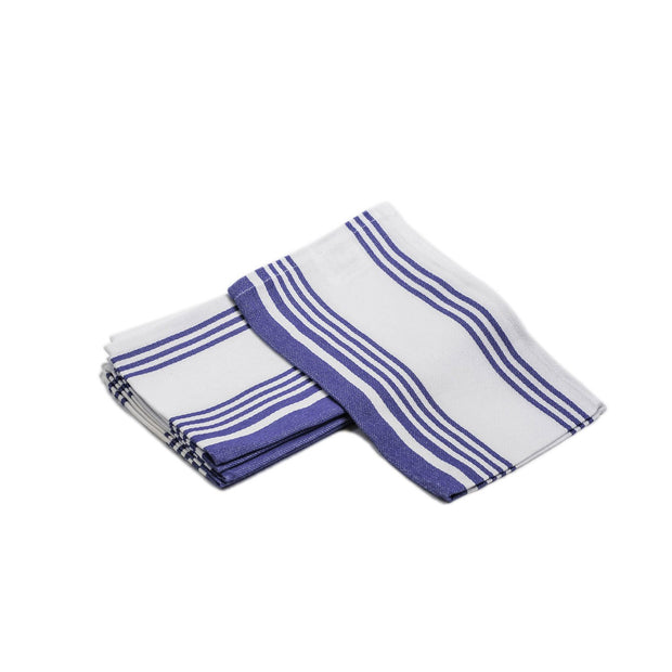 "100% Cotton, 6 Pieces Kitchen Towel Set, None Terry Yarn-Dyed Kitchen Towel, 16"" X 28"""