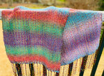 Sunset variegated Shawl