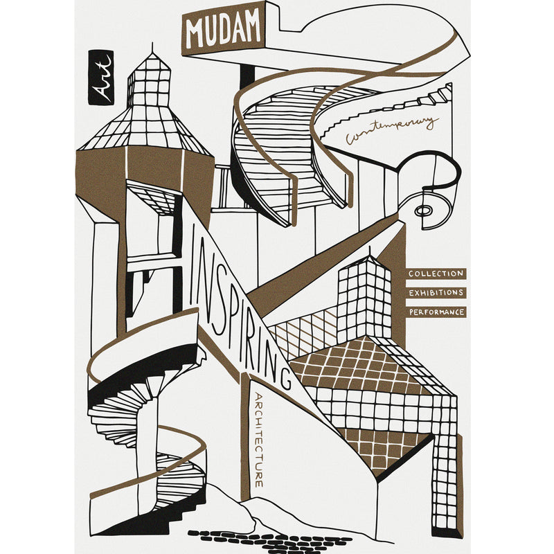 Poster A3 In Risography Mudam - MUDAM STORE