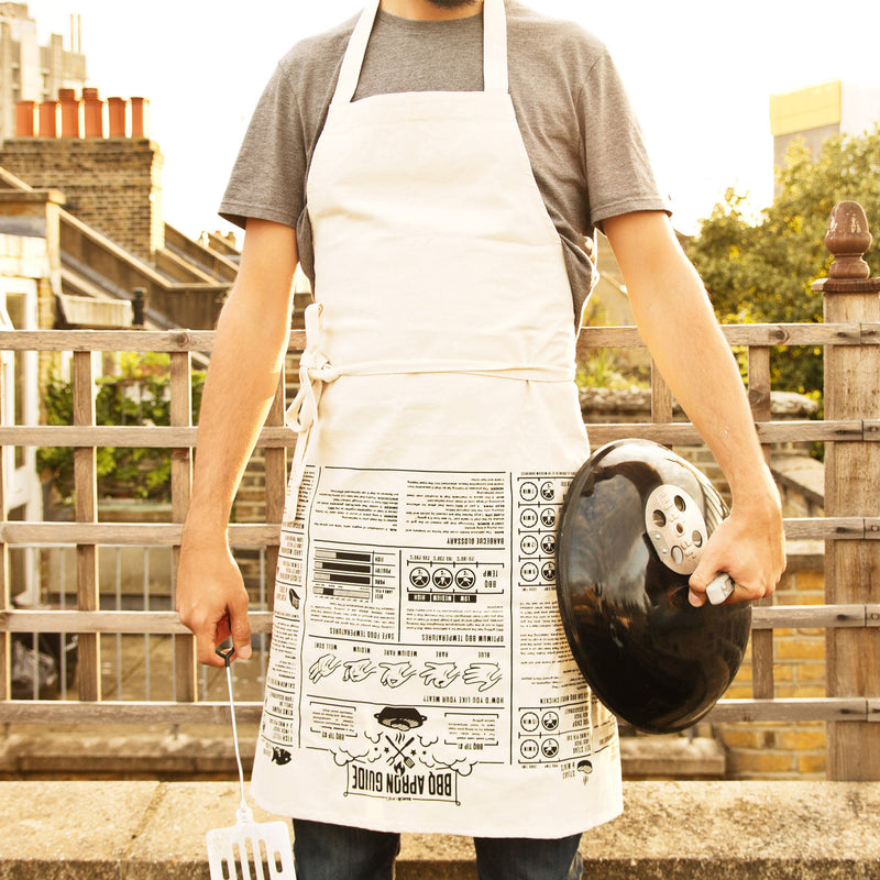 French Cooking Guides Apron BBQ