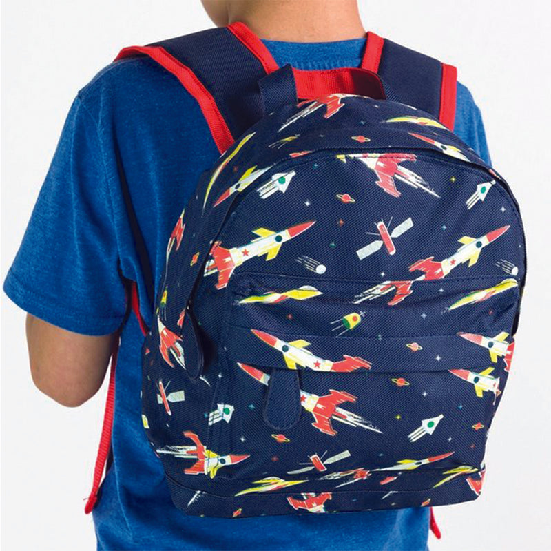 Mini Space Age Backpack For Children