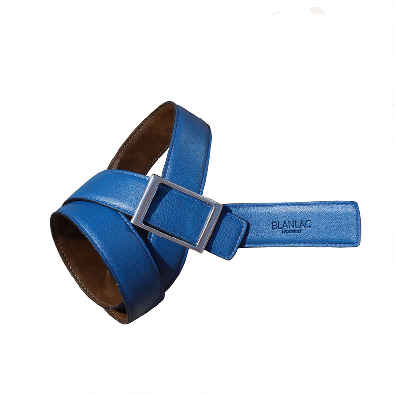 Vegetable Tanned Leather Unisex Reversible Belt - MUDAM STORE