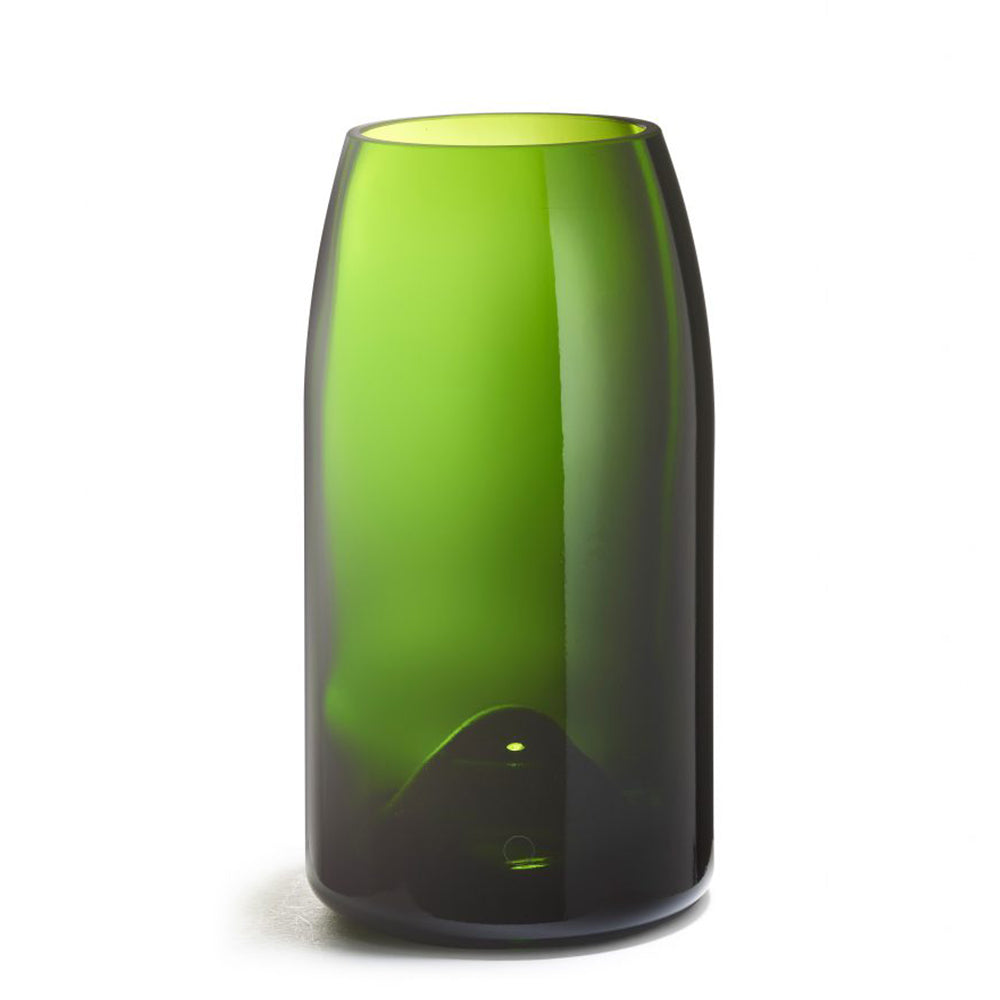 Green Recycled Glass Magnum Vase Buller - MUDAM STORE