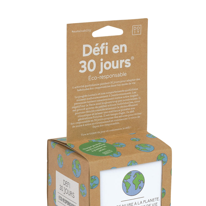 30 Day Challenge Go Green - French Version - MUDAM STORE