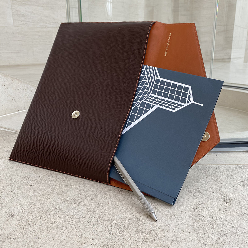 A4 Leather Document Holder - MUDAM STORE