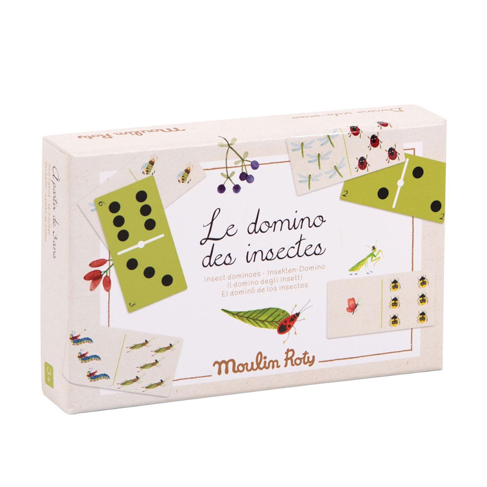 Insect Dominoes Game - MUDAM STORE
