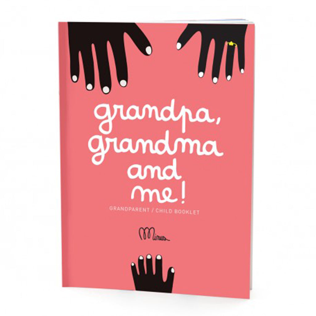 Grandpa Grandma and me! Booklet - MUDAM STORE