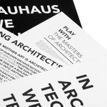 A3 Inspiring Architect's Words Poster