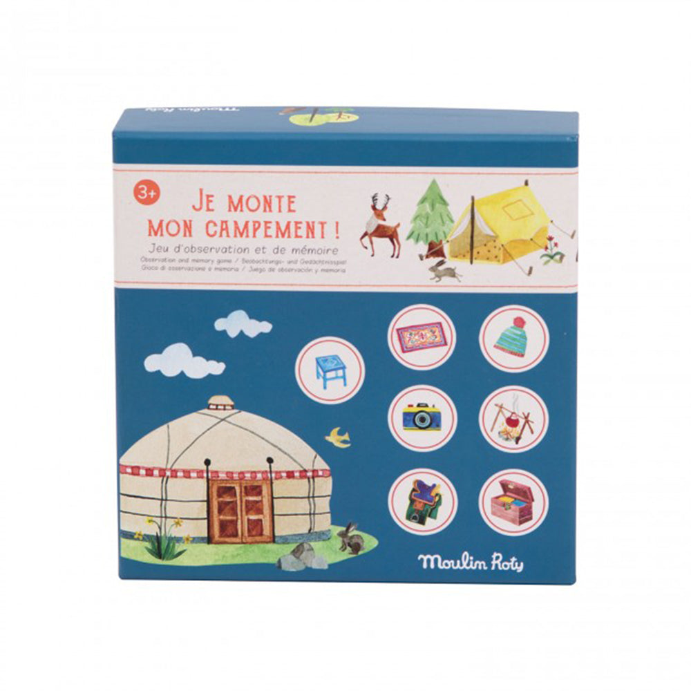 Memory Game I Set Up My Camp Le Jardin Du Moulin - MUDAM STORE