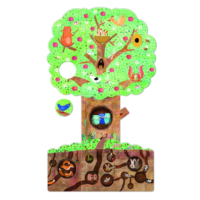 21-piece My Little Apple Tree Puzzle - MUDAM STORE