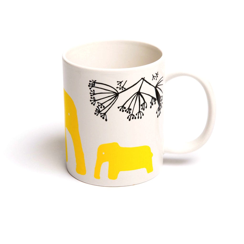Porcelain Coffee & Tea Mug 'Eddy' - MUDAM STORE