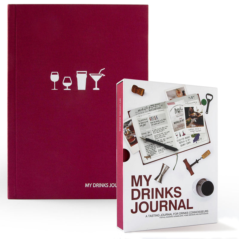 My Drinks Journal - Drinks Tasting Notebook - MUDAM STORE