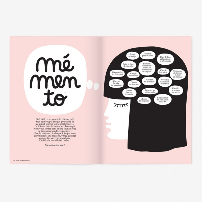 Oh my god, je me marie Illustrated Notebook - French