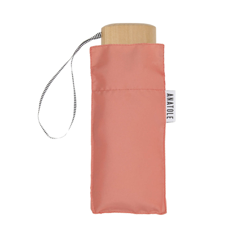 Mini Manual Compact Umbrella Madeleine Pink - MUDAM STORE