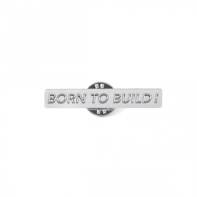 Pin's Born to Build x Titlee - MUDAM STORE