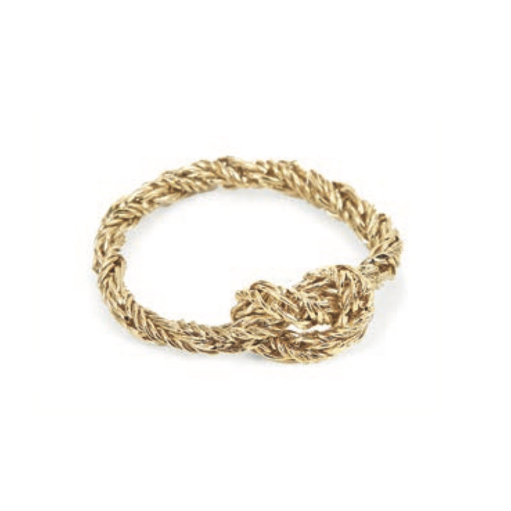 Saint-Malo Gold Filled Brass Ring - MUDAM STORE