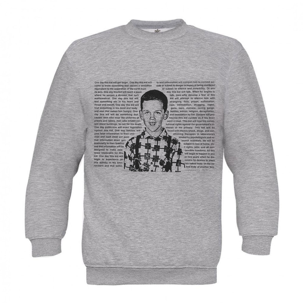 David Wojnarowicz Grey Sweat One Day This Kid, 1994 - MUDAM STORE