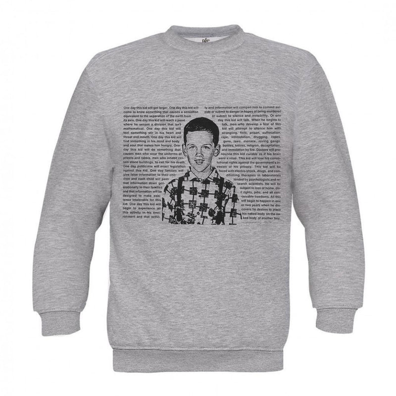 David Wojnarowicz Grey Sweat One Day This Kid, 1994