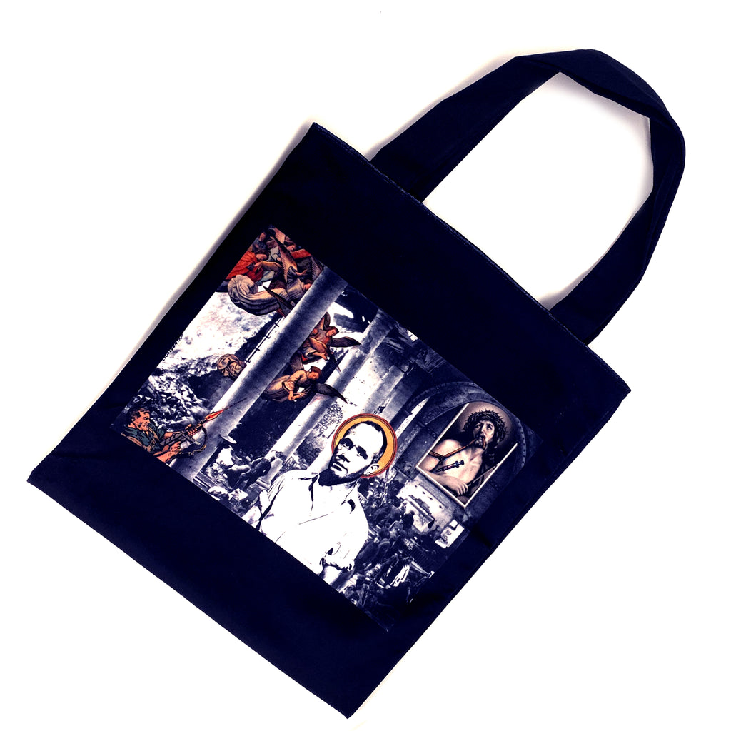 David Wojnarowicz Velvet Tote Bag  Untitled (Genet After Brassai), 1979 - MUDAM STORE