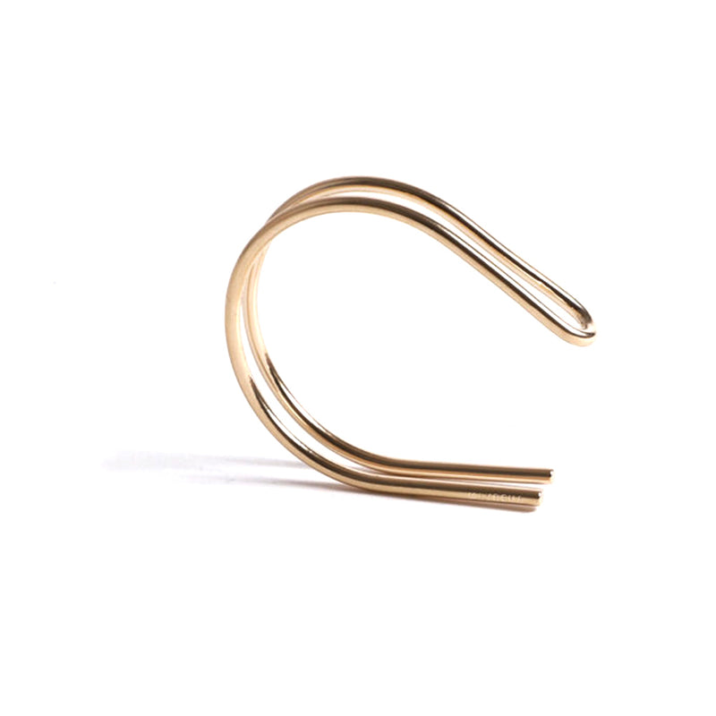 Upsylon Reversible Gold Plated Wrist Cuff