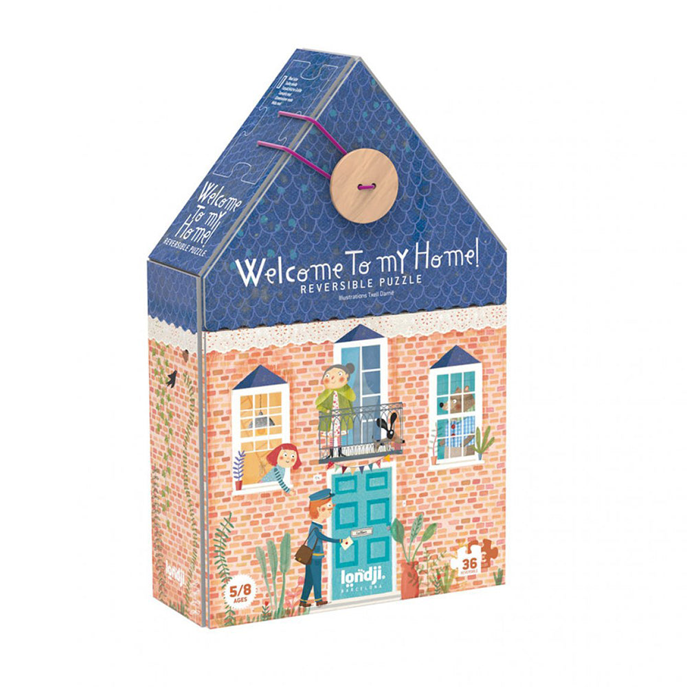 36-piece Reversible Welcome To My Home Puzzle - MUDAM STORE
