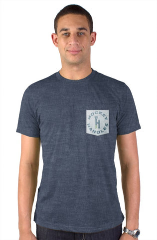 HockeyHandlez Pocket Tee (Navy)