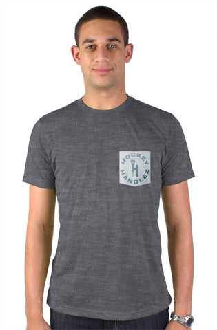 HockeyHandlez Pocket Tee (Charcoal)