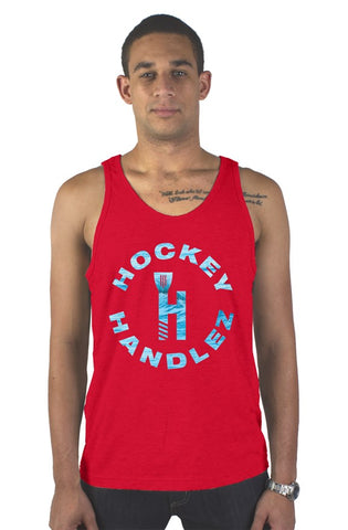 HockeyHandlez High Tide Tank (Red)