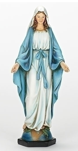 "Statue Our Lady of Grace 10.25""H"