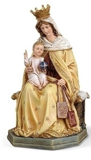 Statue Our Lady of Mount Carmel