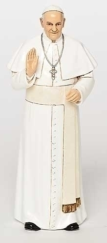 "Statue Pope Francis 6.25""H"