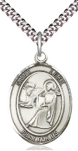 ST. LUKE THE APOSTLE MEDAL & CHAIN