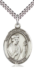 ST. THOMAS MORE MEDAL & CHAIN