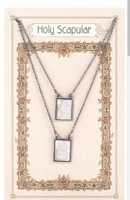 NECKLACE INFINITY FRONT/BACK SCAPULAR