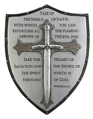 WALL PLAQUE SHIELD