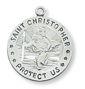 St. Christopher Medal & Chain