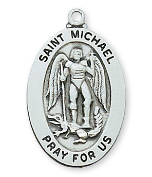 St. Michael Medal & Chain