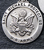 St. Michael Military Medal & Chain