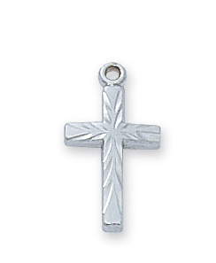 Necklace Cross Sterling Silver
